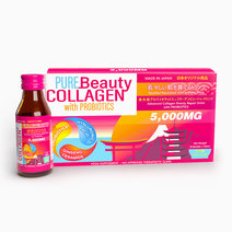 Collagen Repair Drink w/ Probiotics (100ml, 10 Bottles) by Pure Beauty Collagen