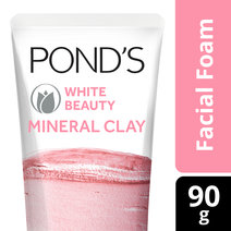 Mineral Clay Facial Foam White Beauty by Pond's
