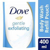 Body Wash Refill Gentle Exfoliating (400ml) by Dove