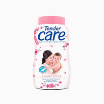 Sakura Scent Hypo-Allergenic Baby Talc (100g) by Tender Care