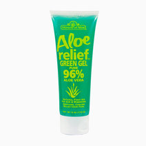 Premium Aloe Relief Green Gel by Miracle of Aloe