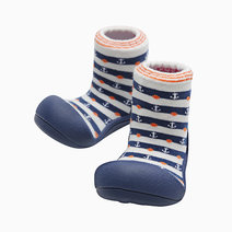 Marine Design (Navy) by Attipas Baby Shoe Socks