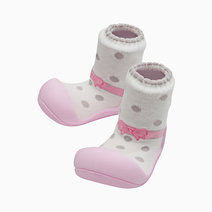 Ballet Design (Pink) by Attipas Baby Shoe Socks