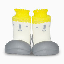 Icon Design (Yellow) by Attipas Baby Shoe Socks