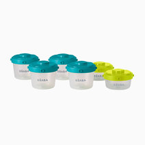 Set of 6 Clip Portions (1st Age / 60ml + 120ml) by BEABA