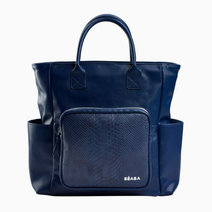 Kyoto Bag in Blue & Snake by Béaba
