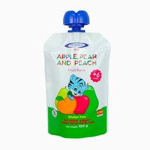 Apple Pear & Peach Puree (100g) by Pronuben Baby