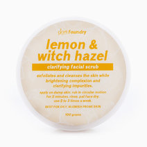 Lemon & Witch Hazel Clarifying Facial Scrub by Skin Foundry