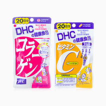 DHC Vitamin C 20s and DHC Collagen 20s Bundle by DHC
