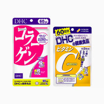 DHC Vitamin C 60s and DHC Collagen 60s Bundle by DHC