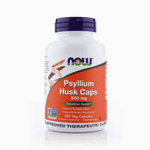 Psyllium Husk 500mg (200s) by NOW