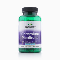 Chromium Picolinate 200mcg (200 Caps) by Swanson