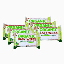 Organic Baby Wipes XL 30s (6) by Organic Baby Wipes
