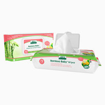 Bamboo Baby Sensitive Wipes by Aleva Naturals