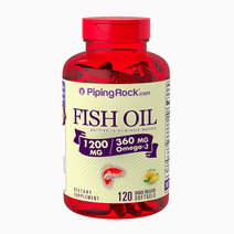 Omega-3 Fish Oil Lemon Flavor (120s) by Piping Rock