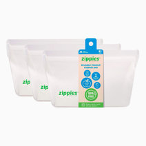 Medium Reusable Stand-Up Bags by Zippies