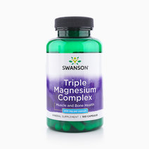 Triple Magnesium Complex (400mg, 100 Capsules) by Swanson