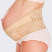 Ergonomic Maternity Support Belt (Nude) by Mamaway
