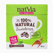 Stevia 40 Stick Pack (2g) by Natvia Organic Stevia