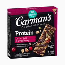 Dark Choco and Cranberry Bar by Carman's