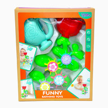 Flower Bath Set with Watering Can (6638) by BathFun