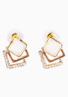 Jackie (3-Dimensional Stud Earrings) by Aine