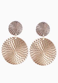 Felice (Two-Toned Drop Earrings) by Aine