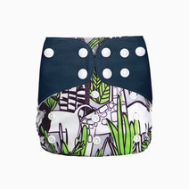 Jungle Cloth Diaper by Gubby and Hammy