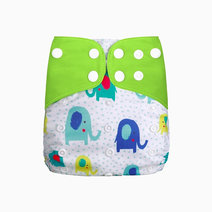 Elephant Cloth Diaper by Gubby and Hammy