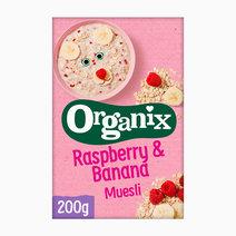 Raspberry & Banana Muesli (200g) by Organix