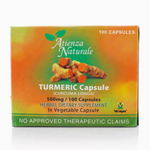 Turmeric Capsule (100s, 500mg) by Atienza Naturale
