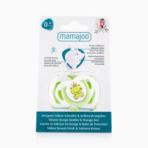 Silicone Orthodontic Soother w/ Cover (Prince Frog) by Mamajoo