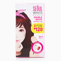 Double White Whitening Soap (60g x 3 Pcs.) by Seoul White Korea