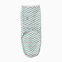 Infant Velcro Swaddle Wrap (Crooked Lines) by Swaddies PH