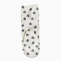 Infant Velcro Swaddle Wrap (Elephants) by Swaddies PH