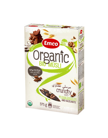Organic Bio Musli USDA-Organic Oat Cereal (Chocolate & Nuts) by Musli