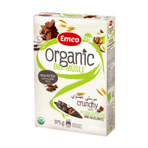 Organic Bio Musli USDA-Organic Oat Cereal (Chocolate & Nuts) by Musli