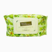 Herb Day Cleansing Tissue (70 Sheets) by The Face Shop