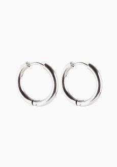 Lowe 1.9cm Hoop Earrings by Dusty Cloud