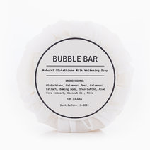 Natural Glutathione Milk Whitening Soap by Bubble Bar