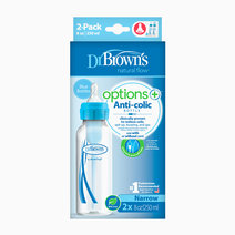 F. Bottle 8oz / 250ml PP Narrow Neck Options+ (2-Pack) by Dr. Brown's