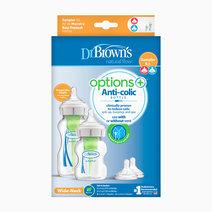 F. Bottle PP Wide-Neck Options+ Sampler Kit by Dr. Brown's