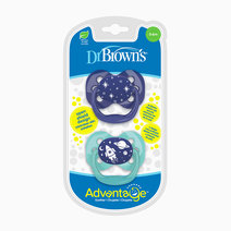 Advantage Stage 1 Blue Space Pacifier (2-Pack) by Dr. Brown's