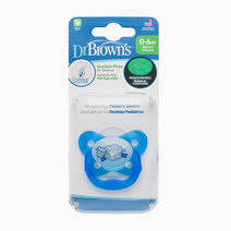 Prevent Glow In The Dark Butterfly Shield Stage 1 Sheep Pacifier (0-6M) by Dr. Brown's