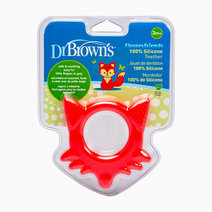 Fox Teether (Red) by Dr. Brown's