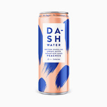 Dash Peach Sparkling Water (330ml) by Raw Bites