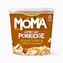 MOMA Almond Butter & Salted Caramel Instant Porridge Pot (55g) by Raw Bites