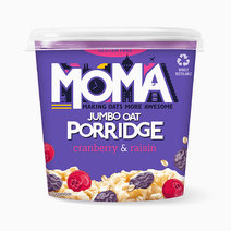MOMA Cranberry & Raisin Instant Porridge Pot (70g) by Raw Bites