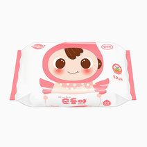 Basic Baby Wipes Embossed & Unscented (20s, Travel Size) by Soondoongi