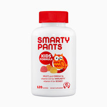 Kids Formula Multi and Omega 3s Vitamin D3 for Immunity Vitamin K for Bones (120 Gummies)  by Smarty Pants